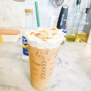 Low Calorie Caramel Iced Coffee