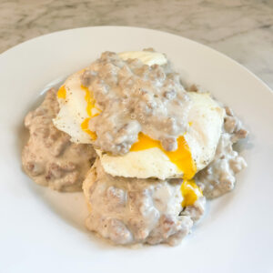 The Best Southern Biscuits and Gravy Recipe Ever