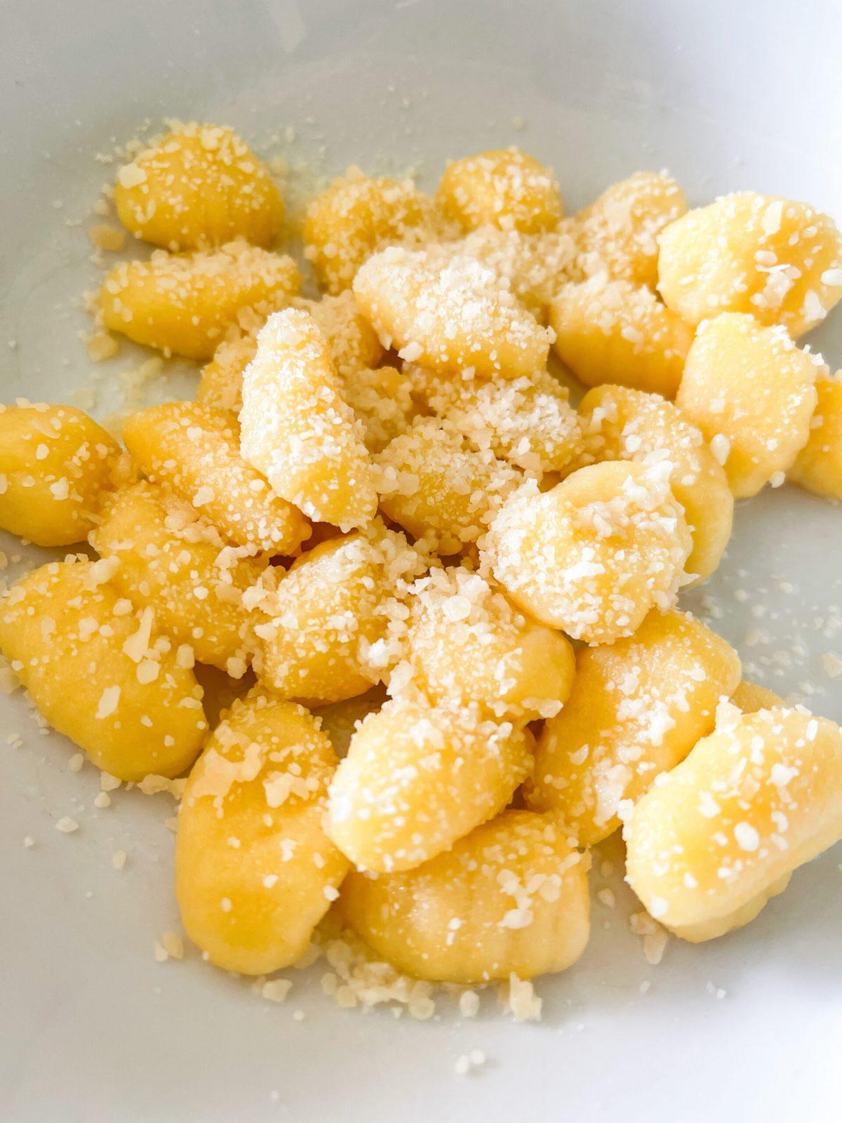 Low Calorie Lemon Parmesan Gnocchi